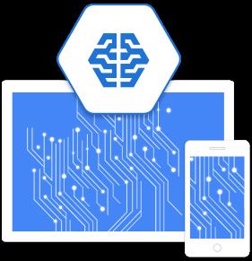 Ilustración de aprendizaje automático