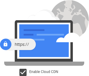 Cloud CDN の利点