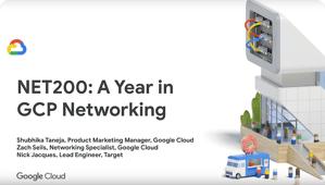 """Miniatura do vídeo """"Um ano de serviços de rede do GCP"""""""
