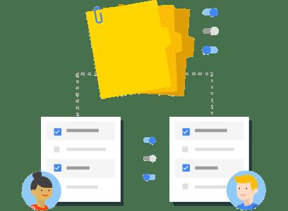 Organize recursos