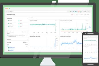 Stackdriver se ha diseñado para monitorizar y mejorar la infraestructura y el rendimiento de las aplicaciones, así como para solucionar los problemas que puedan surgir