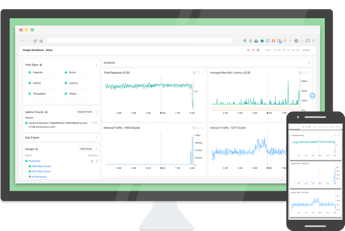 Stackdriver 用于监控基础架构和应用的性能,排查其中的问题并加以改善