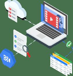 Video AI-Produkte mit komplettem Funktionsumfang