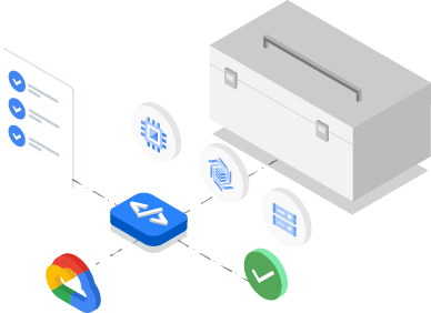 Google Cloud プロダクトとサービスを操作するためのツールとライブラリ
