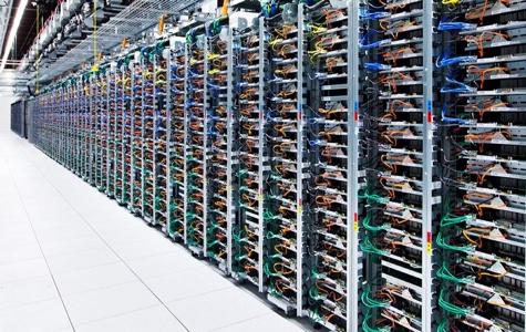 Por dentro de um data center