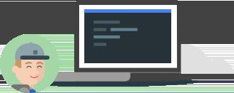 원하는 방식으로 코드 작성