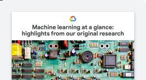Imagen de El aprendizaje automático de un vistazo