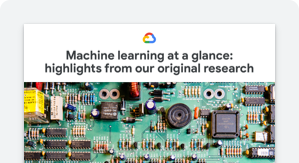 machine learning at a glance image