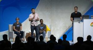Visualização da sessão de DevOps do Google cloud