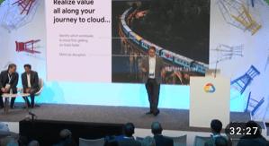 Vidéo Google Cloud Next 2019