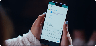 Communicate by phone preview