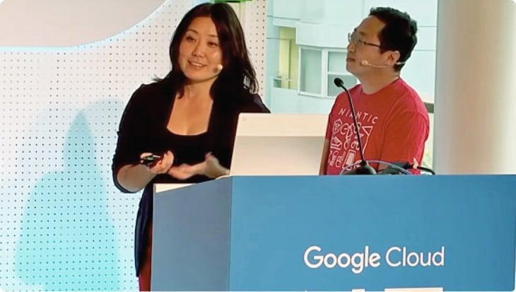 """观看""""Niantic 介绍 Google Cloud 如何扩展其热门游戏的覆盖范围""""视频"""
