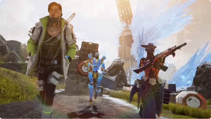 Ver el vídeo sobre cómo Apex Legends usa Google Cloud