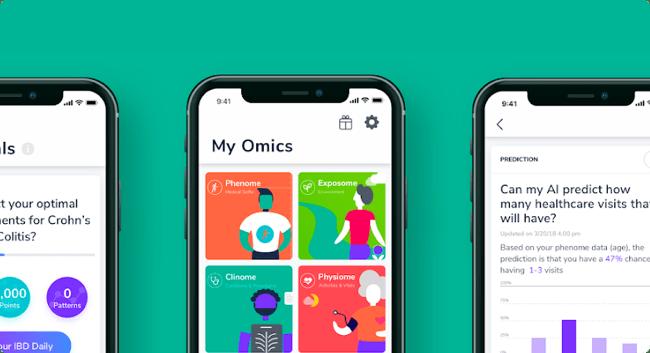 Voorbeeld mobiele app van Docai