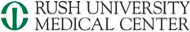 Rush University 로고