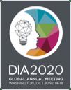 2020 年 DIA (藥物資訊協會) 最新消息標誌
