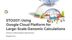 Google CloudPlatform pour les calculs génomiques à grande échelle
