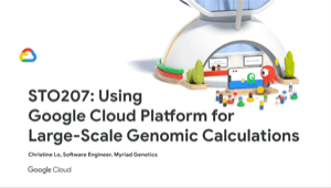 Google Cloud Platform for Large-Scale Genomic Calculations