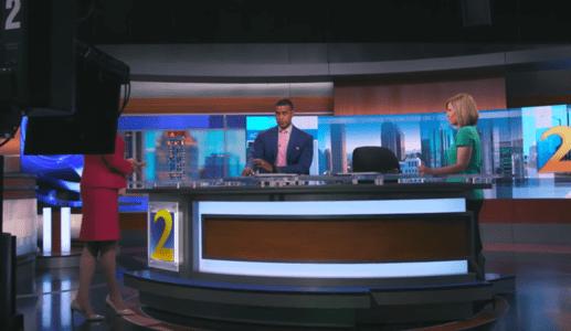 Imagen de transmisión de medios de comunicación y entretenimiento
