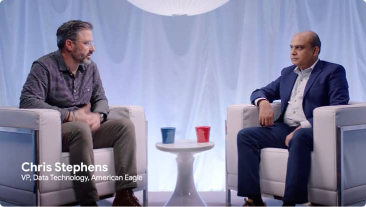 Learn how American Eagle partners with Google Cloud