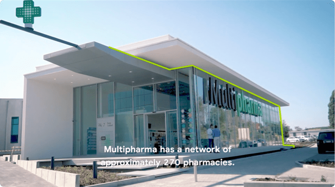 Belgian pharma retailer, Multipharma, chose Google Cloud for their SAP workload.