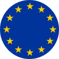 European flag badge