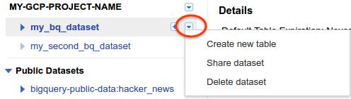 Share dataset