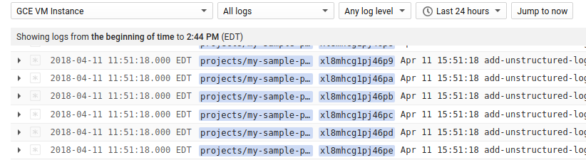 Custom fields in summary line