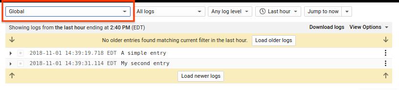 Logs Viewer Global