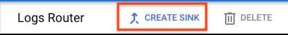 """Sélection de l'option """"Create sink"""" (Créer un récepteur) dans le routeur de journaux"""