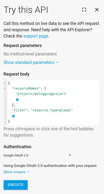 試用這個 API