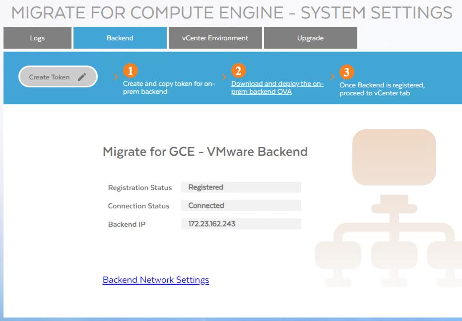Screenshot einer registrierten und verbundenen Appliance (zum Vergrößern klicken)