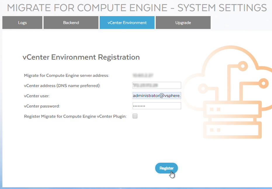 Screenshot of registering a plug-in (click to enlarge)