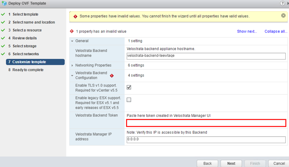 Screenshot of the Deploy OVF Template dialog box(click to enlarge)