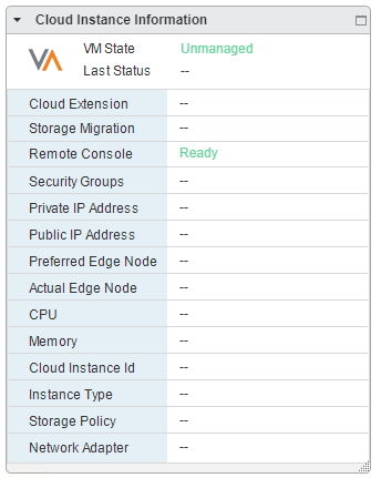Screenshot of unmanaged state (click to enlarge)