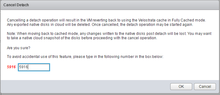 Screenshot of Cancel Detach dialog box(click to enlarge)