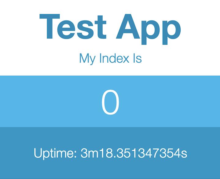 Envio do app bem-sucedido no Kf