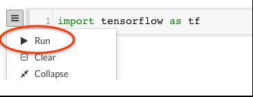 Datalab 実行アイコン