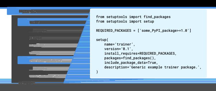 訓練應用程式專案的建議結構