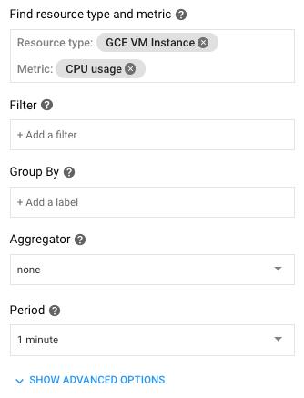 Display additional selection options.