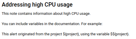 마크다운을 사용하여 문서화 메모를 작성한 예입니다.