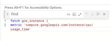 Query Editor は検索と置換の機能をサポートしています。