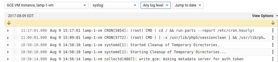 Schnellstart für Google Compute Engine | Stackdriver Monitoring ...