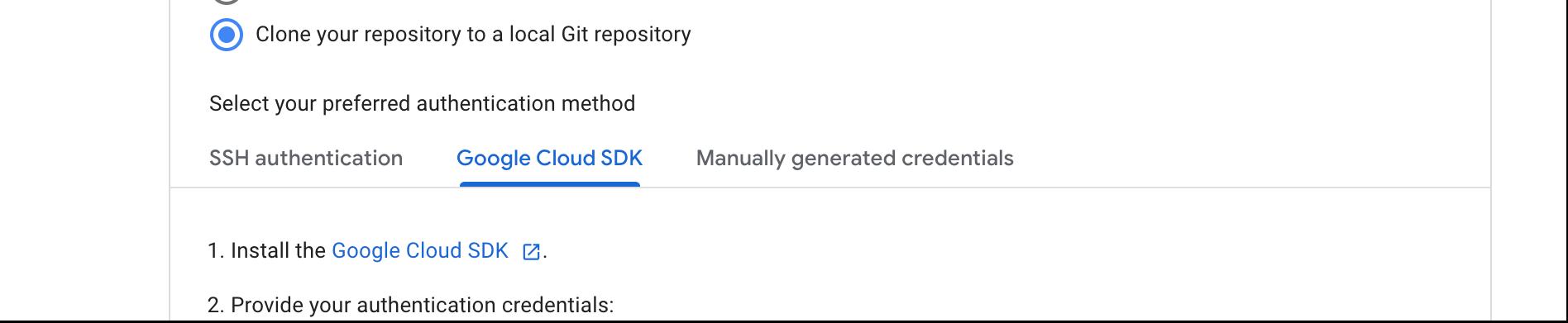 Sigue las instrucciones para clonar el repositorio en un repositorio de Git local