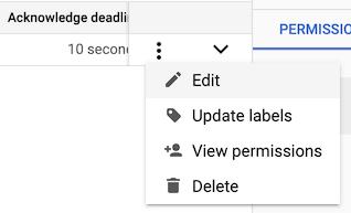 Le menu contextuel avec l'option Modifier mise en évidence.