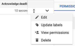 The context menu with the Edit option highlighted.