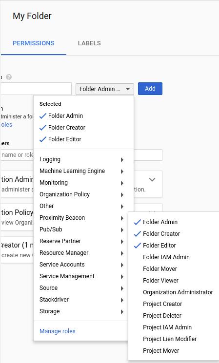 Capture d'écran de l'interface utilisateur
