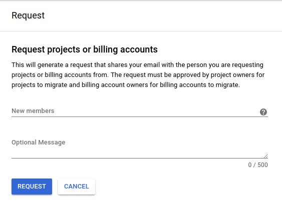 프로젝트 요청 UI