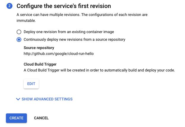 Verificación de la configuración de la implementación continua