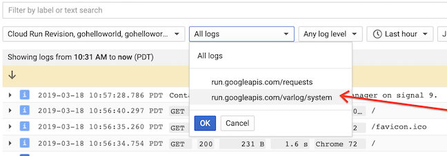 Troubleshooting Cloud Run | Cloud Run Documentation | Google
